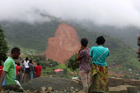 An international effort to help Sierra Leone