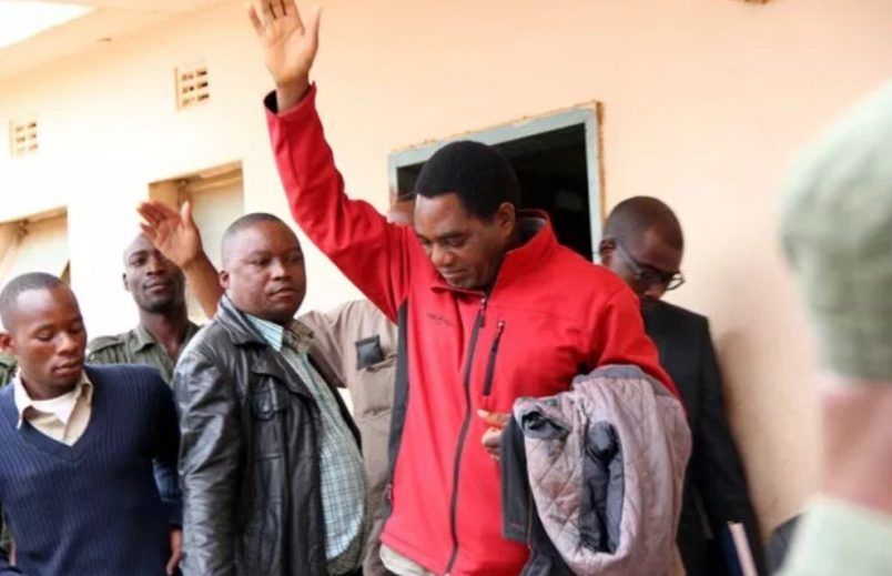 Zambia's opposition leader Hichilema due in court