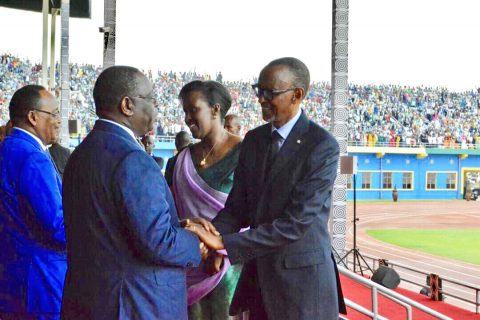 Rwanda's Kagame touts 'DIY' approach for Africa during inauguration