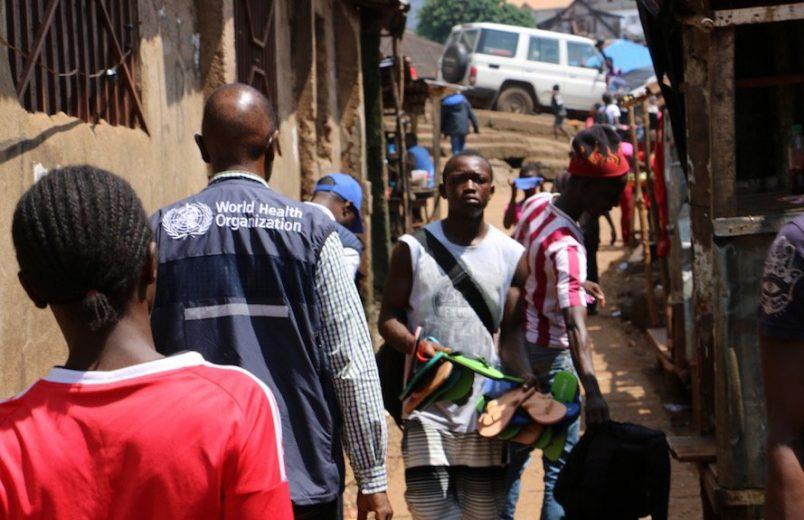 Sierra Leone: SMS polls help landslide victims to identify assistance needs