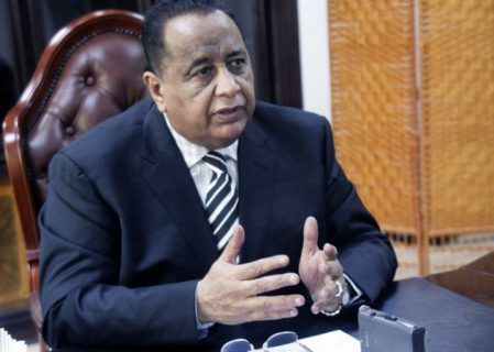 Sudan's Ghandour meets with U.S. officials to discuss sanctions
