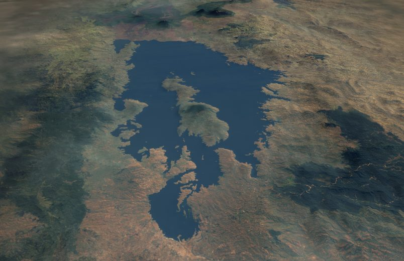 Moderate quake strikes in Africa's sensitive Lake Kivu region