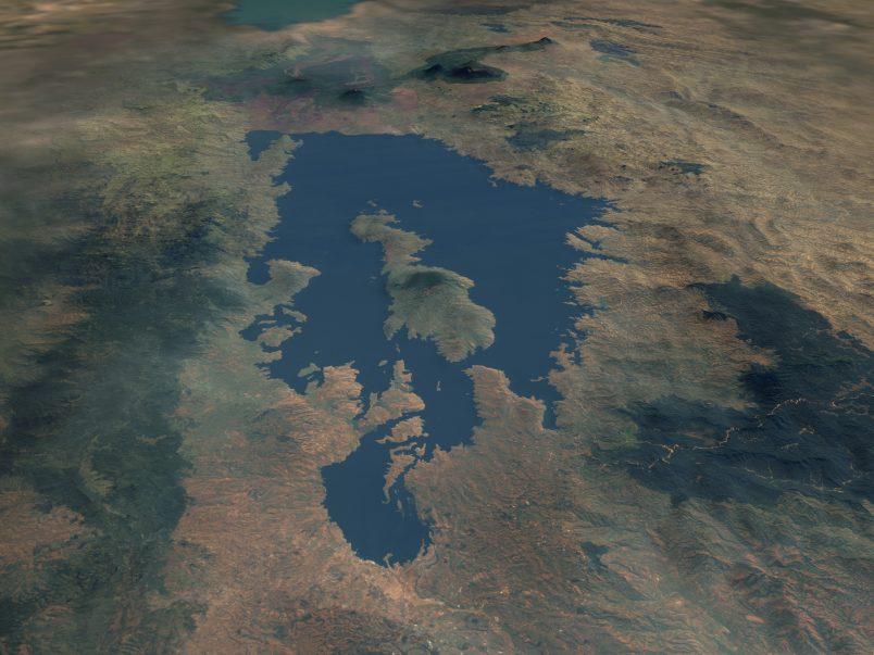 Moderate quake strikes in Africa's sensitive Lake Kivu region