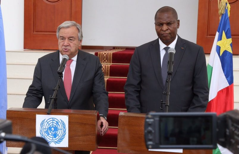 UN's Guterres wraps up visit to Central African Republic