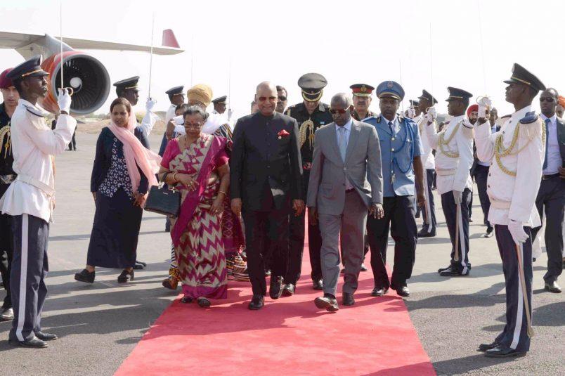 India's Kovind begins state visits to Djibouti, Ethiopia