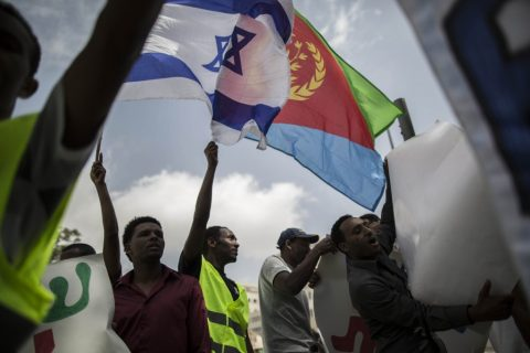 Amid embassy protests, Rwanda denies secret migrant deal with Israel