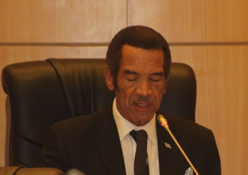 Botswana: Khama reiterates ICC support in final State of Nation address