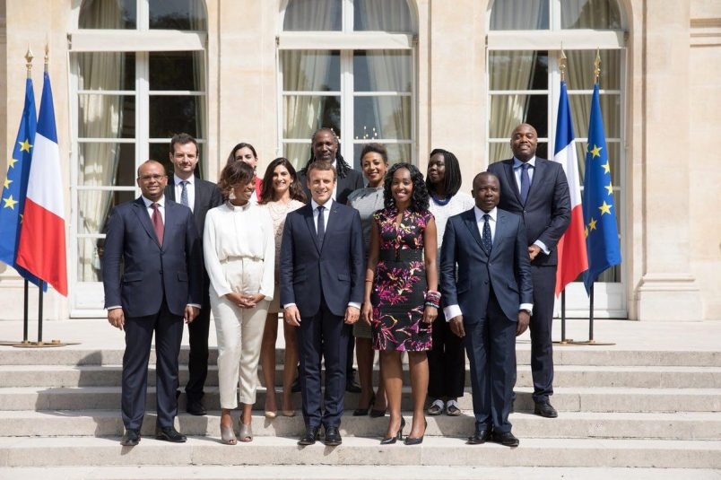 Macron, headed to AU-EU summit, begins Africa trip in Ouagadougou
