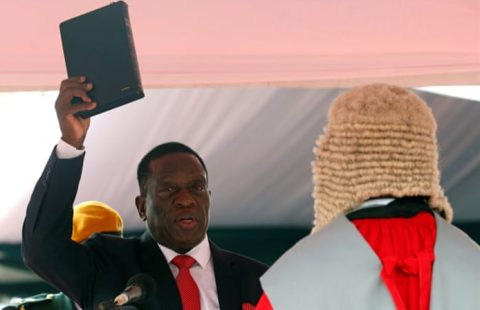 Zimbabwe: Mnangagwa inauguration address honors Mugabe legacy