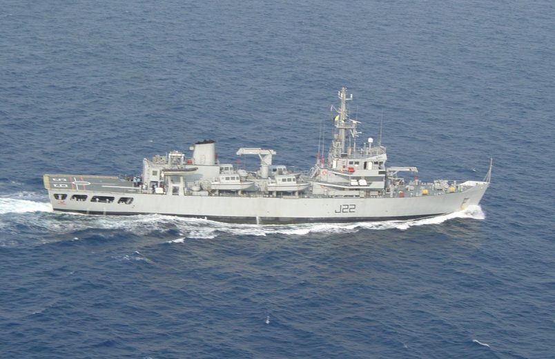 Indian Navy ship arrives in Tanzania for joint exercises, survey mission