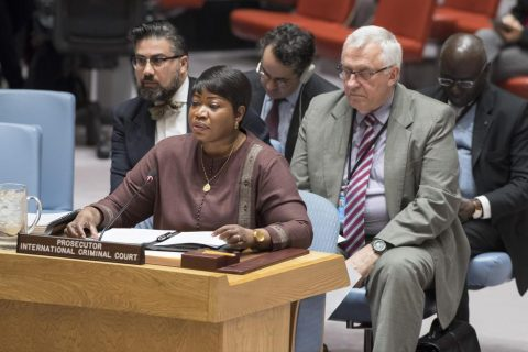 ICC's Bensouda calls on UN Security Council to act on Bashir impunity
