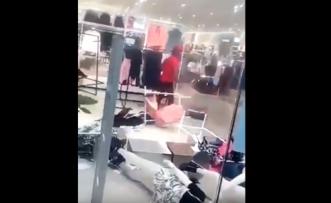 Violent protests over hoodie ad shut down South Africa's H&M stores