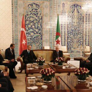 Turkey's Erdogan begins four-nation Africa tour in Algeria