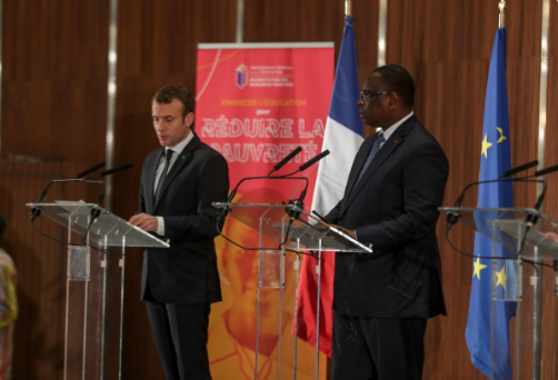 Senegal: Sall, Macron donor conference raises USD$2.3B for education