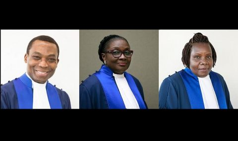 Nigerian named ICC president; judges from Benin, Uganda sworn in