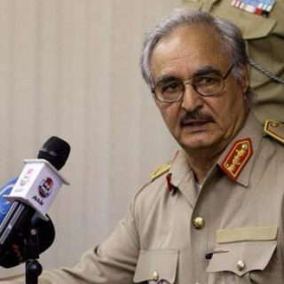Libyan official says Haftar headed home to Benghazi