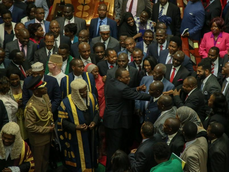 Kenyatta focuses on unity in State of the Nation address