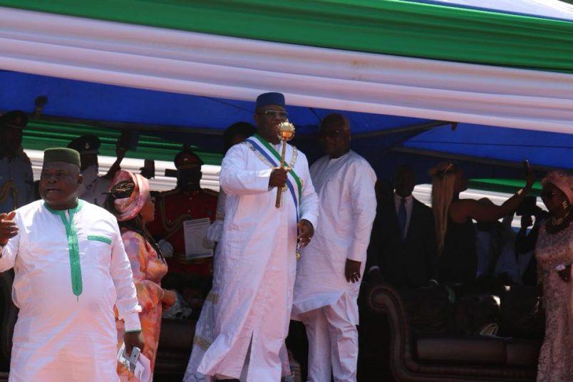 Sierra Leone: Maada Bio inauguration marred by stampede