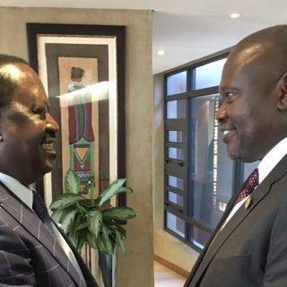 Machar, Odinga meet in Pretoria as South Sudan talks edge forward