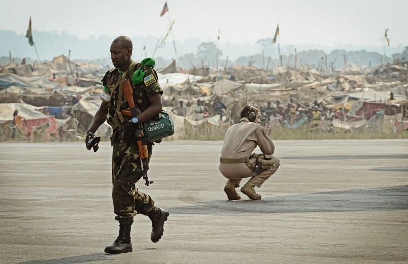 Four Rwandan peacekeeping soldiers shot dead by colleague in the Central African Republic