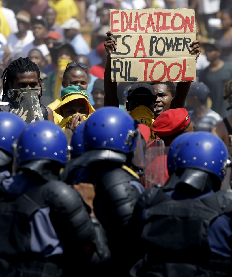 Escalating SA student protests close Pretoria, Witwatersrand campuses