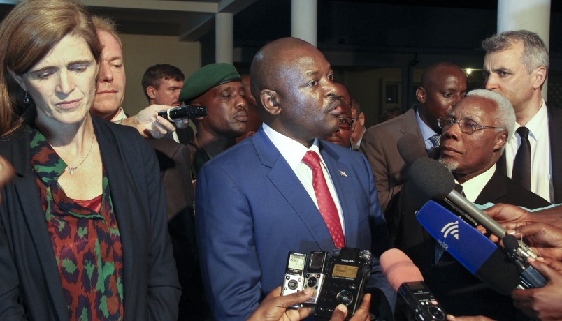 "US ""deeply alarmed"" over Burundi"