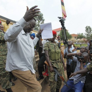 Army general's arrest ratchets up tension ahead of Uganda poll