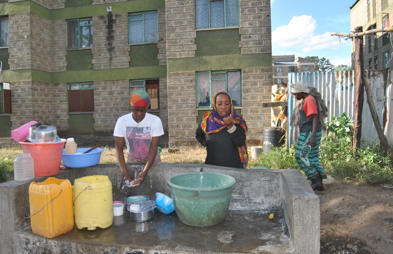 Kenya: water shortage and sanitation still a problem in informal settlements