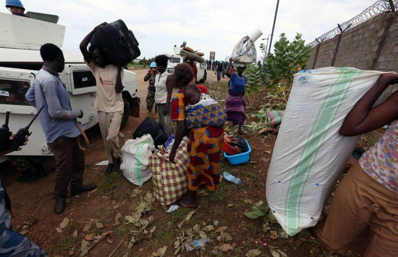 Six humanitarian aid workers killed in South Sudan ambush