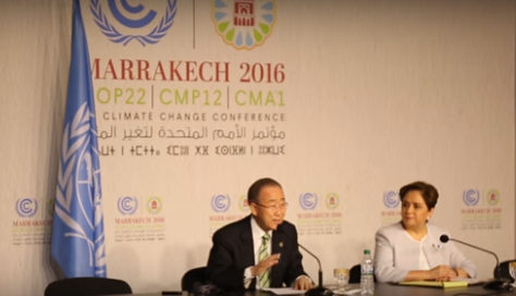 COP22: Ban Ki-Moon optimistic about Trump, U.S. role in global goals
