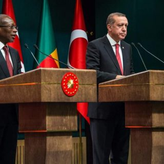Benin's president Talon, Erdogan strengthen ties during Ankara visit