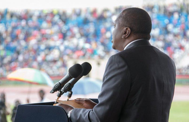 Kenyatta considers Kenya's ICC withdrawal, warns against foreign interference