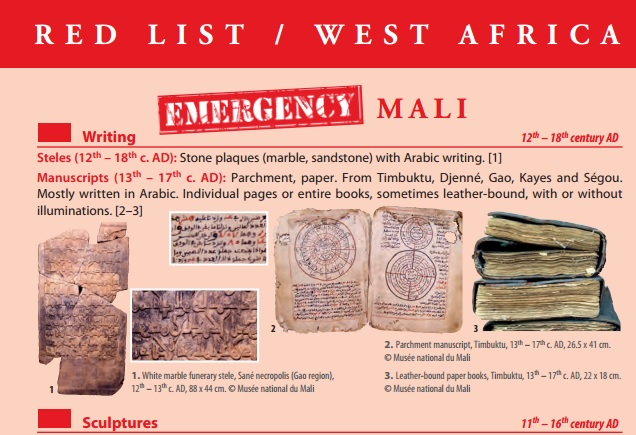New 'Red List' for West Africa helps to protect art, cultural antiquities