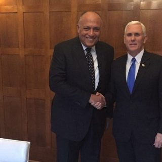 In Washington, Shoukry discusses Egypt's ties under Trump leadership