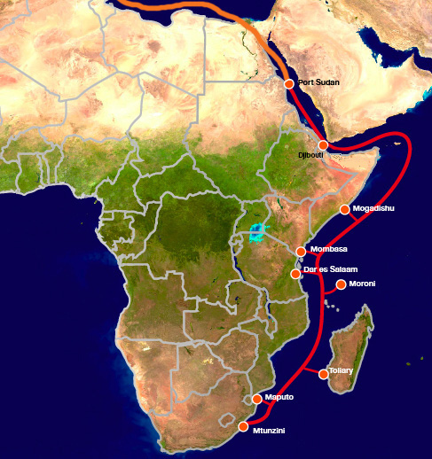Madagascar: Undersea Internet cable break impacts