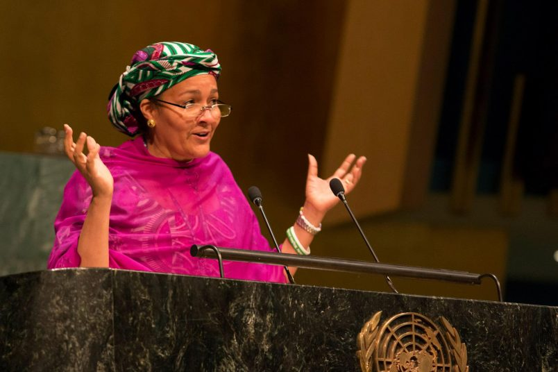 Nigeria's Mohammed sworn in as UN Deputy Secretary-General