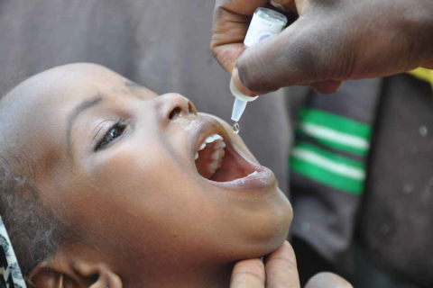WHO campaign set to reach 13 nations with polio vaccination