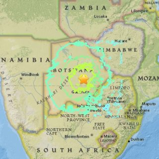 Botswana 6.5-magnitude quake shakes at least 8 African countries