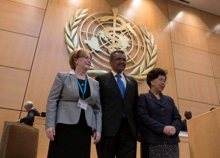 Tedros begins U.S. tour ahead of his July 1 start as WHO Director General