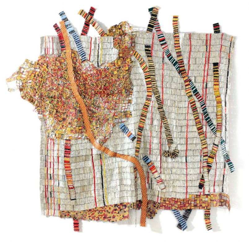 At Sotheby's, Anatsui bottle-cap sculpture commands top dollar