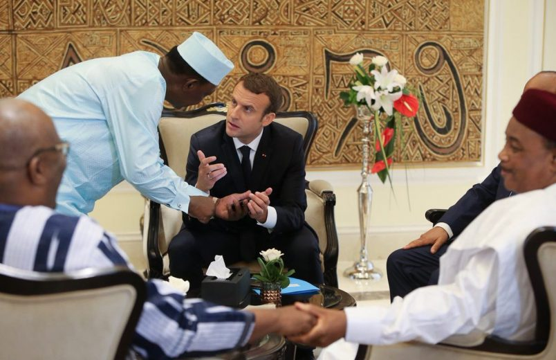 In Bamako, G5 leaders and France's Macron launch Sahel joint force
