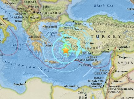 Fatal Turkey quake causes tsunami; shaking felt as far off as Egypt