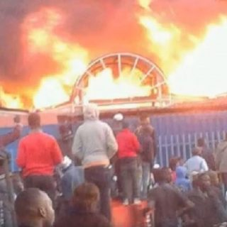 Lusaka City Market fire sparks political sparring, suspicions of sabotage