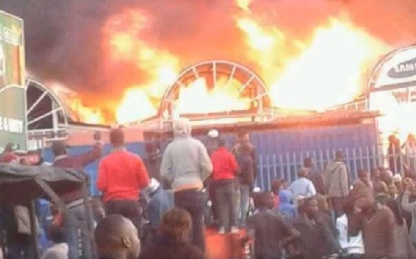 Lusaka City Market fire sparks political sparring, suspicions of sabotage