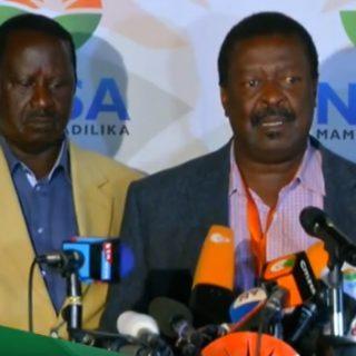 Nasa's Odinga demands IEBC declare him winner of Kenya's election