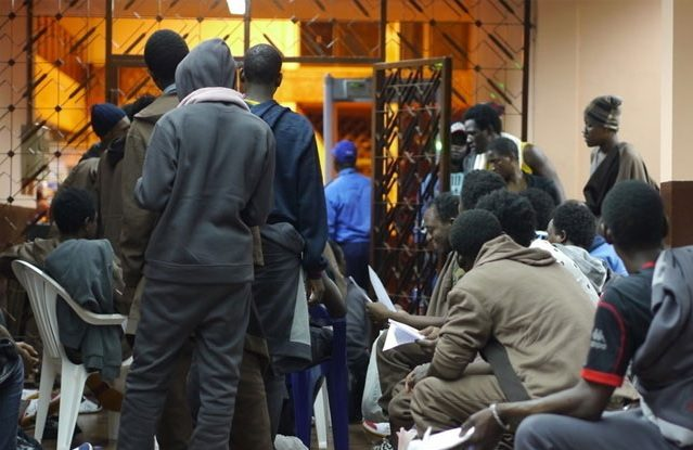 Guinea's latest group of migrants home from Libya