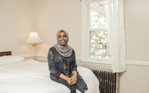 Somalis live in Trump's childhood home for UNGA immigration project