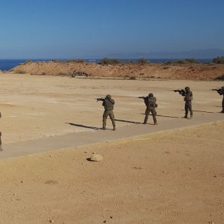 Spain ups security at Moroccan border, denies island construction