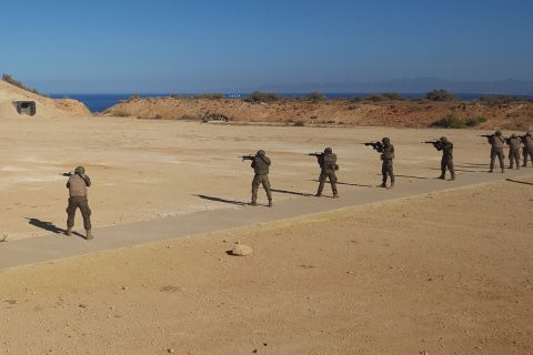 Spain ups security at Moroccan border, denies island construction