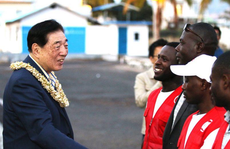 In Comoros, Africa's island nations talk disaster preparedness